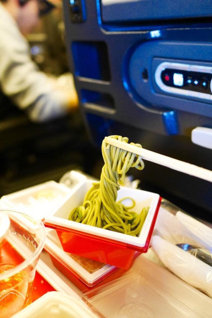 JAL Soba Noodles