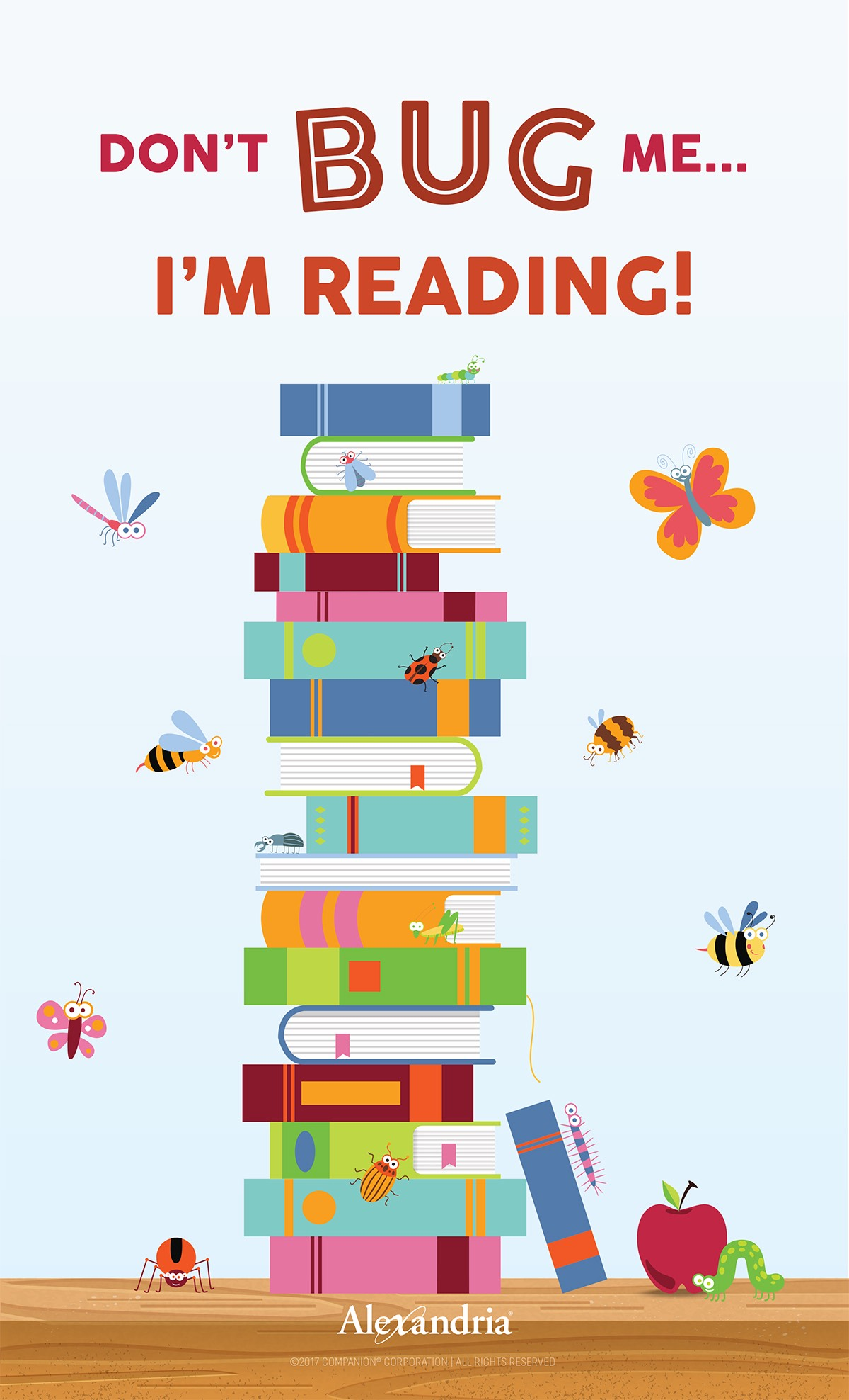 Read Into Spring With Posters