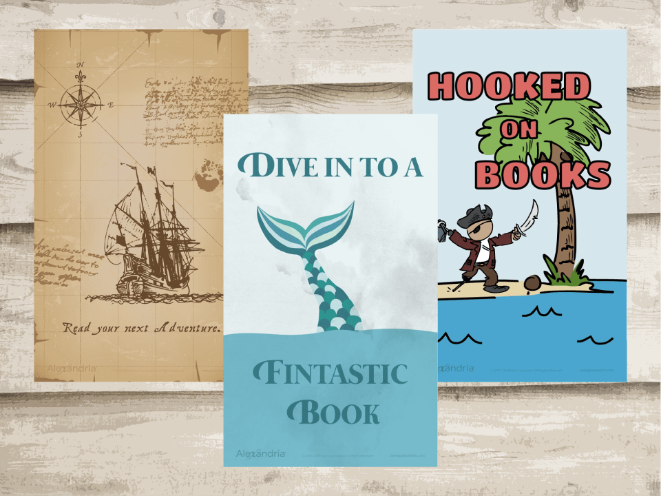 Pirate Reading Posters