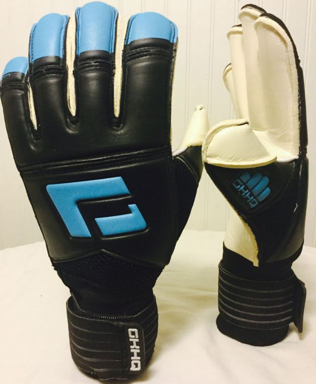 L1 Goalkeeper Gloves 2nd Generation (Electric Blue). Junior sizes