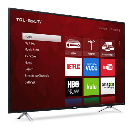 TCL 55 4k tv