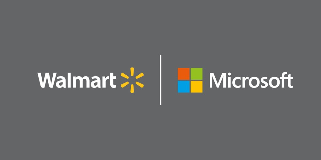 walmart and Microsoft