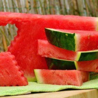 watermelon heart cut pic