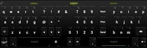 android kii keyboard