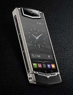 vertu luxurious android phone