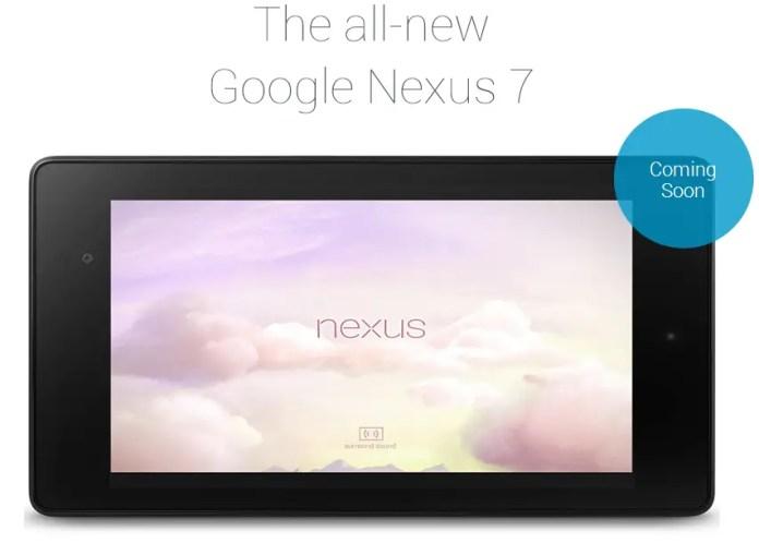 coming soon new nexus 7
