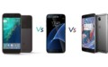 Specs Comparison: Google Pixel Vs Samsung Galaxy S7 Vs OnePlus 3