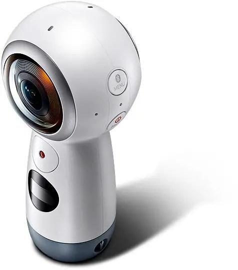 Gear 360 VR camera