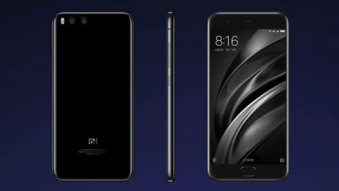 Xiaomi Mi 6 front back side