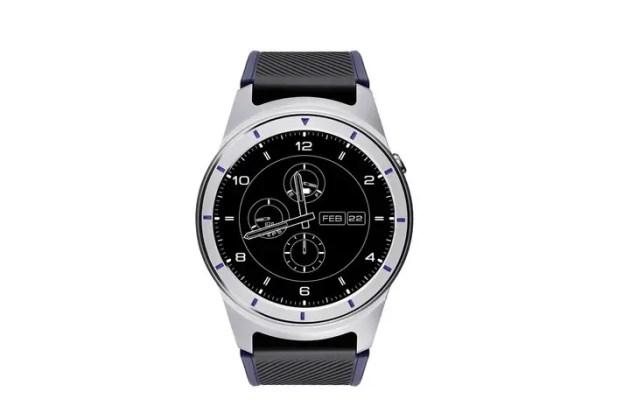zte quartz smartwatch grey