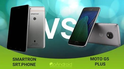 smartron srt.phone vs moto g5 plus