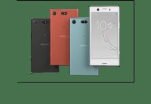 Sony Xperia XZ1 Compact colors