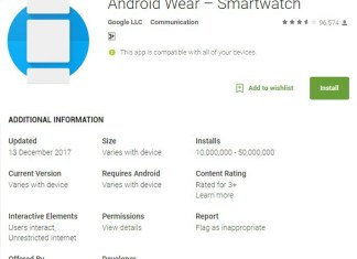 Android Wear app hits 10 million