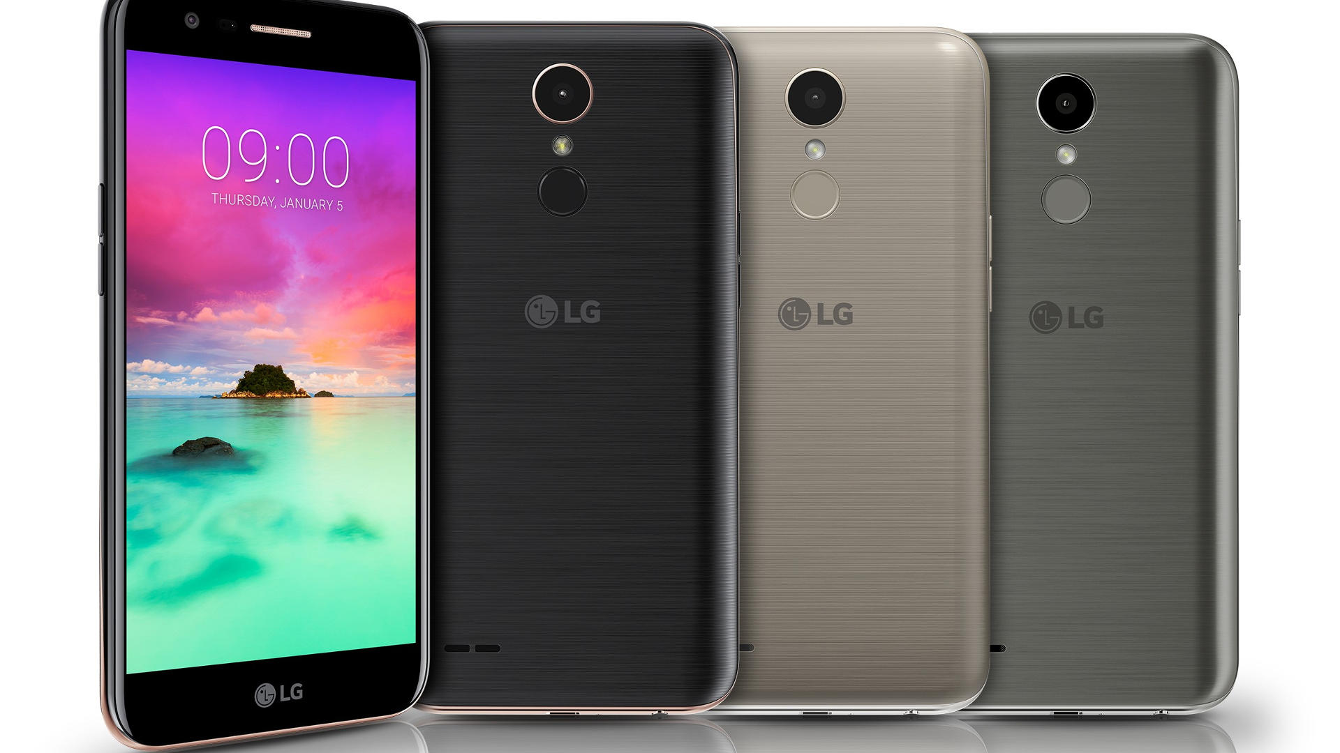 LG K8 2018 And K10 2018 Officially Launched