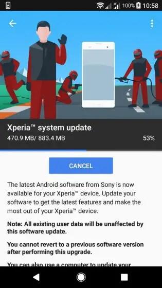 Xperia-XA1-Android-Oreo-Update-01