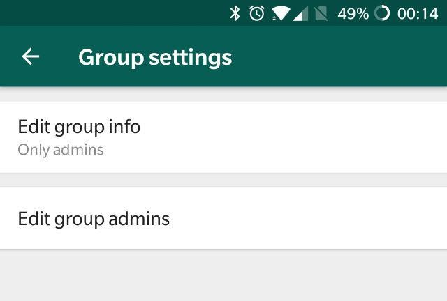 Whatsapp testing new Restrict Group Feature in latest beta v2.18.132