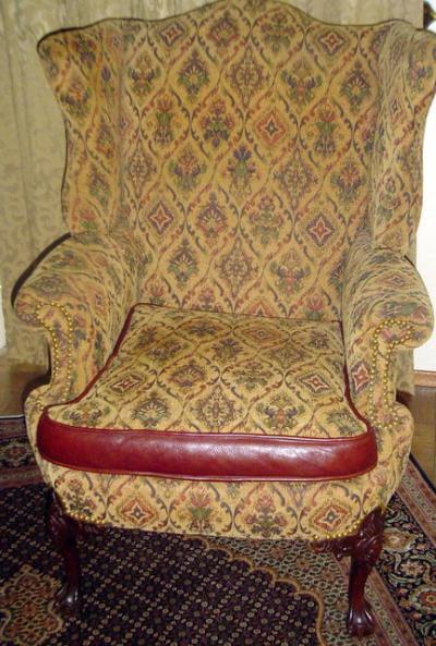 http://www.goantiques.com/mahogany-wing-chair-943105