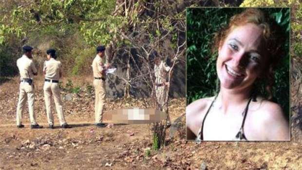 BRUTAL MURDER FOREIGNER TOURIST GOA NAKED BODY IRISH WOMAN