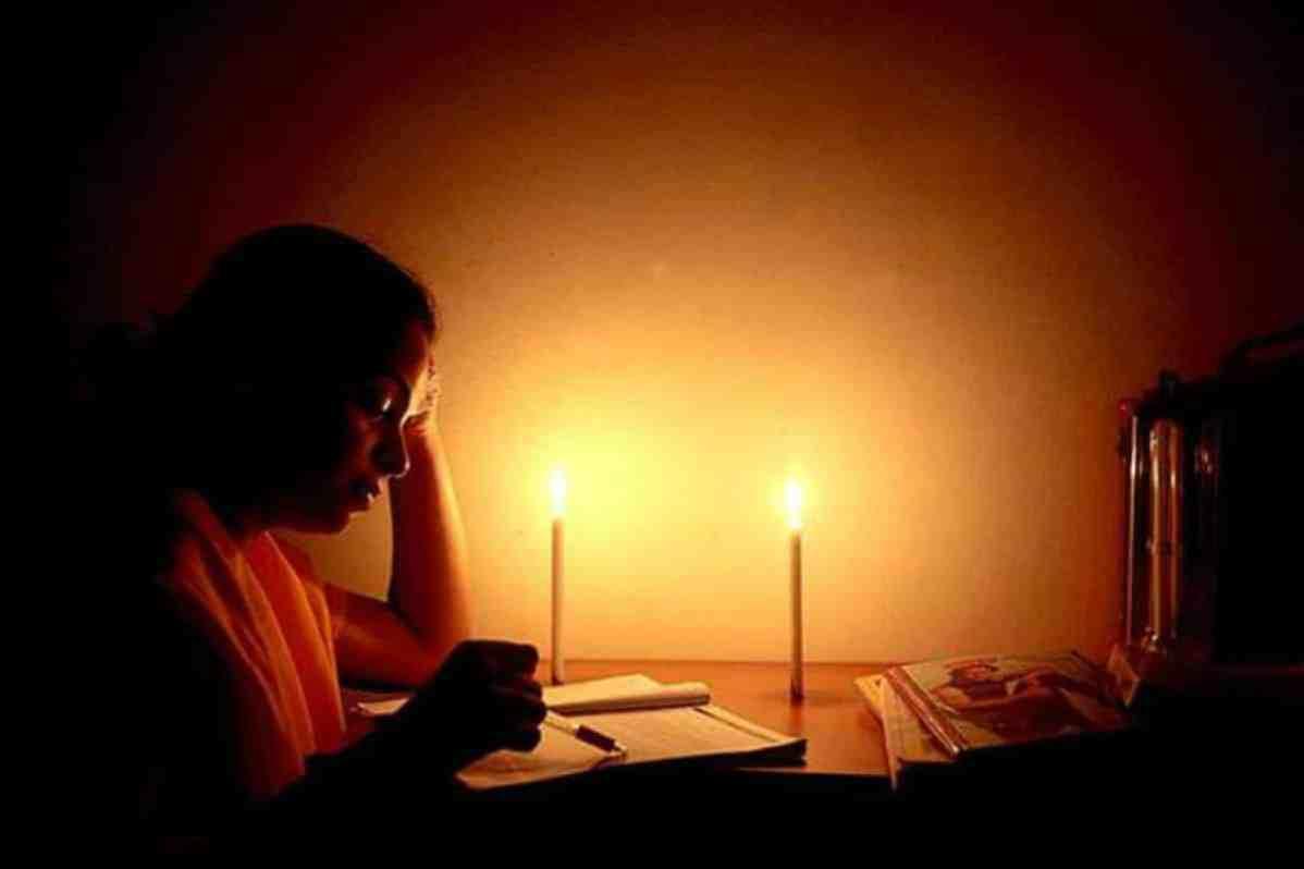 Electricity Department Power cut time limit Black Sunday