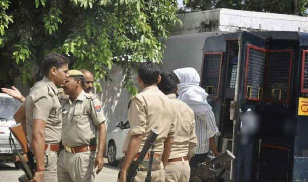 Locals Attack on Cops 1