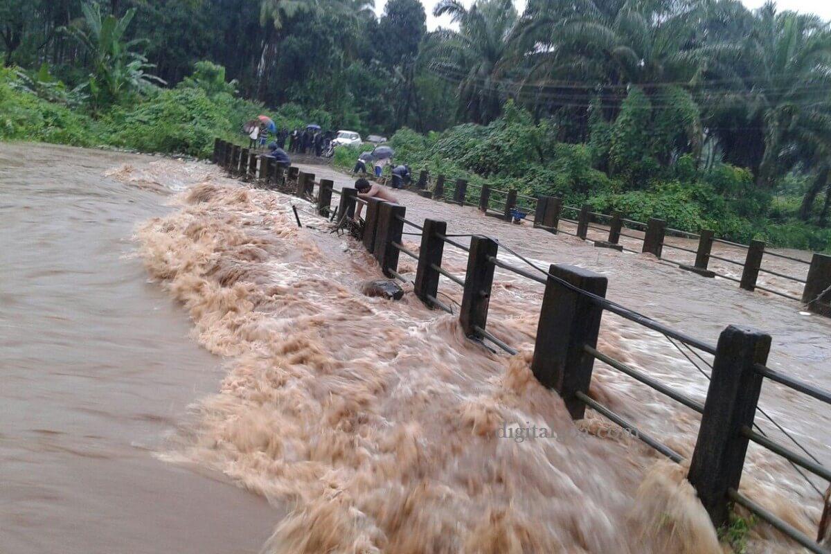 Flooding in Sattari