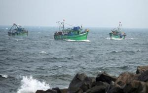 Fishing Trawlers in South Goa Coast