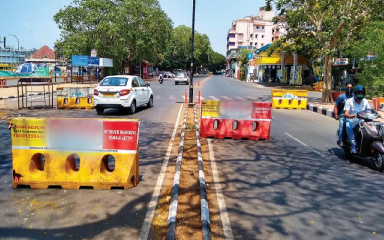 No Covid Check on Goa Border