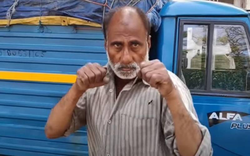 Abid Khan National Boxing Champion