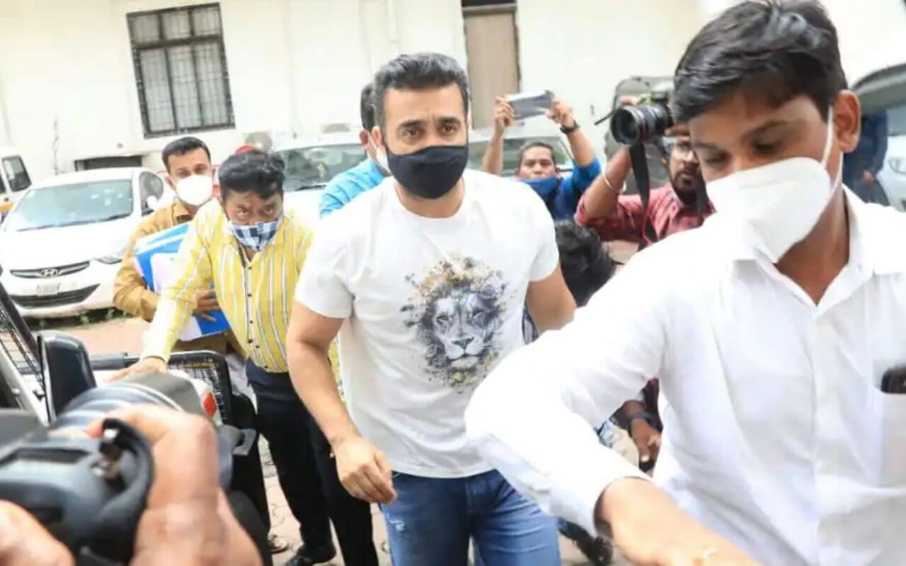 Raj Kundra Sent into Police Custody
