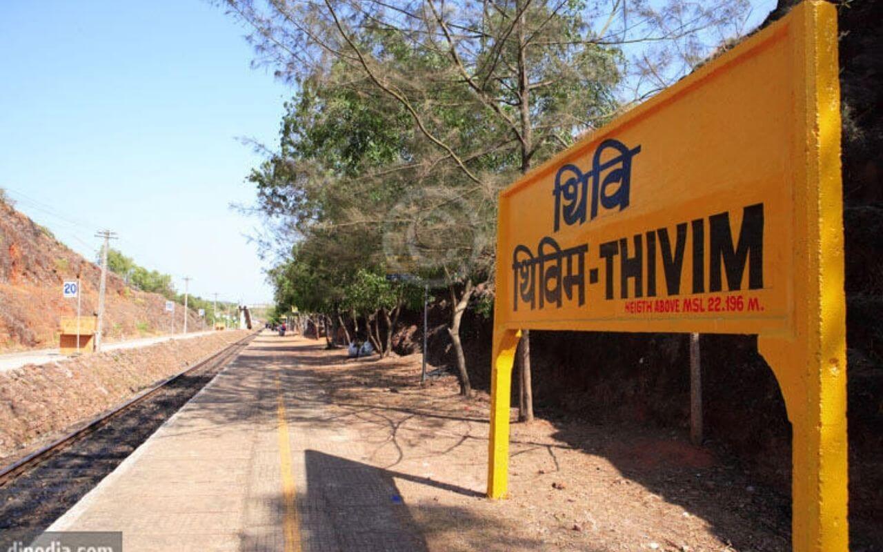 Thivim Railway Station