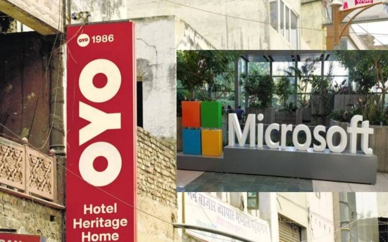 Alliance Between OYO and Microsoft