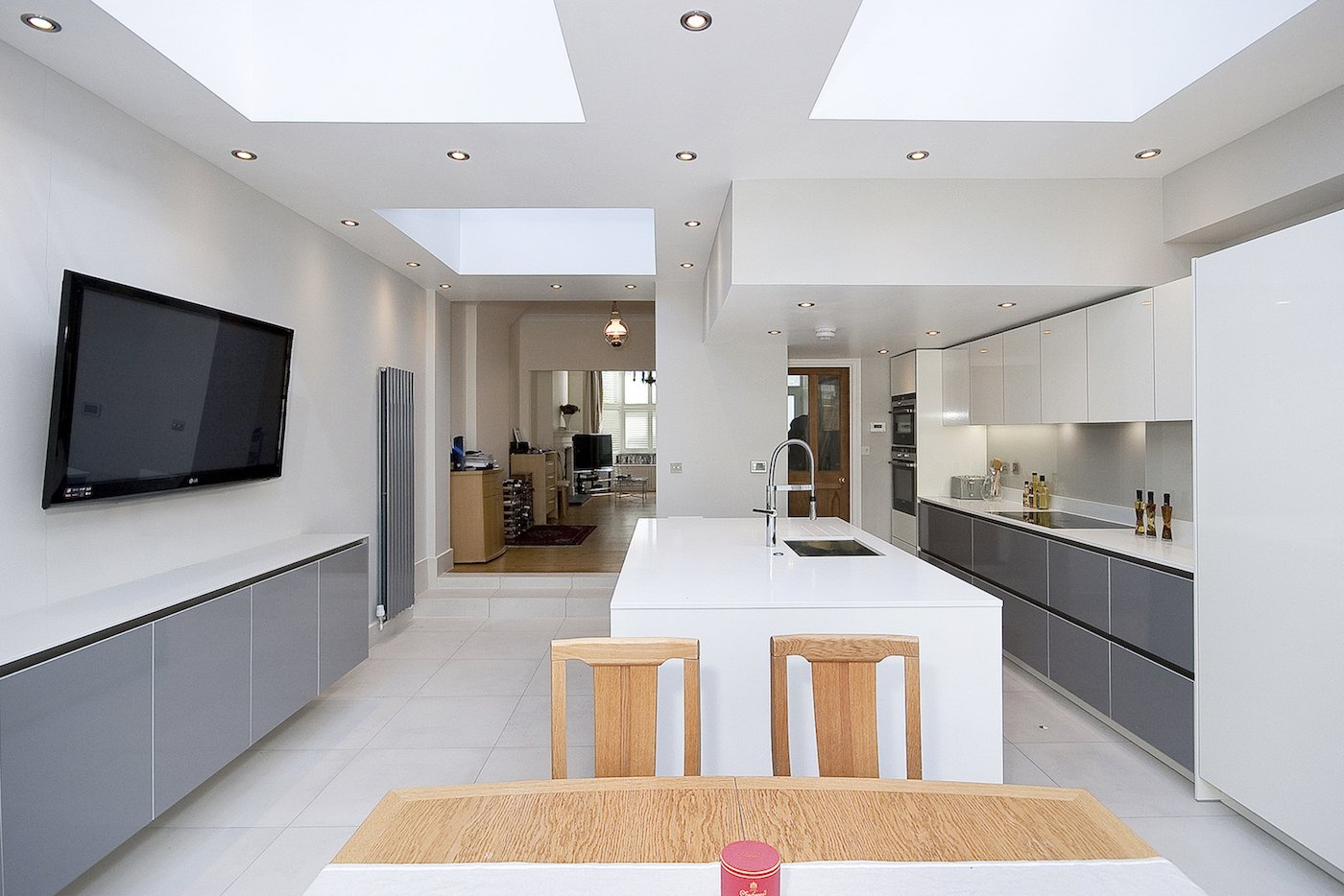 Architect Designed Putney Wandsworth SW6 Kitchen House Extension Kitchen  Design 1 Kitchen Extensions In London | Part 89