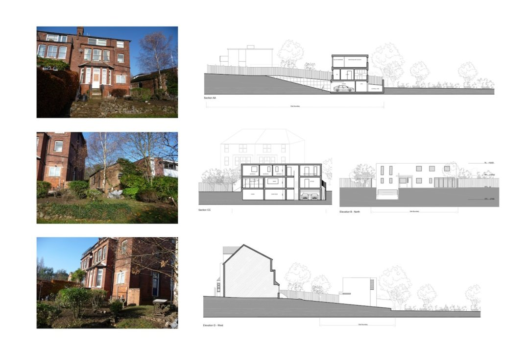 02 Highgate Haringey N6 House development Site sections 2 1200x800 Highgate I, Haringey N6   Residential property development
