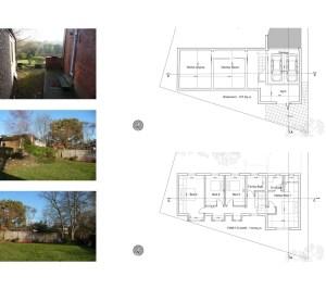 04 Highgate Haringey N6 House development Upper floor plans 300x266 Highgate I, Haringey N6   Residential property development