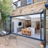 Architect designed Putney Wandsworth SW6 kitchen house extension Connecting to the rear garden Kitchen extensions London | Home design