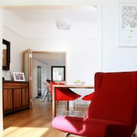 Architect designed house extension Highbury Islington N5 Dinning and living areas Islington residential architect projects