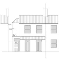 Architect designed house extension Maryland Newham E15 Front Elevation East London residential architecture projects