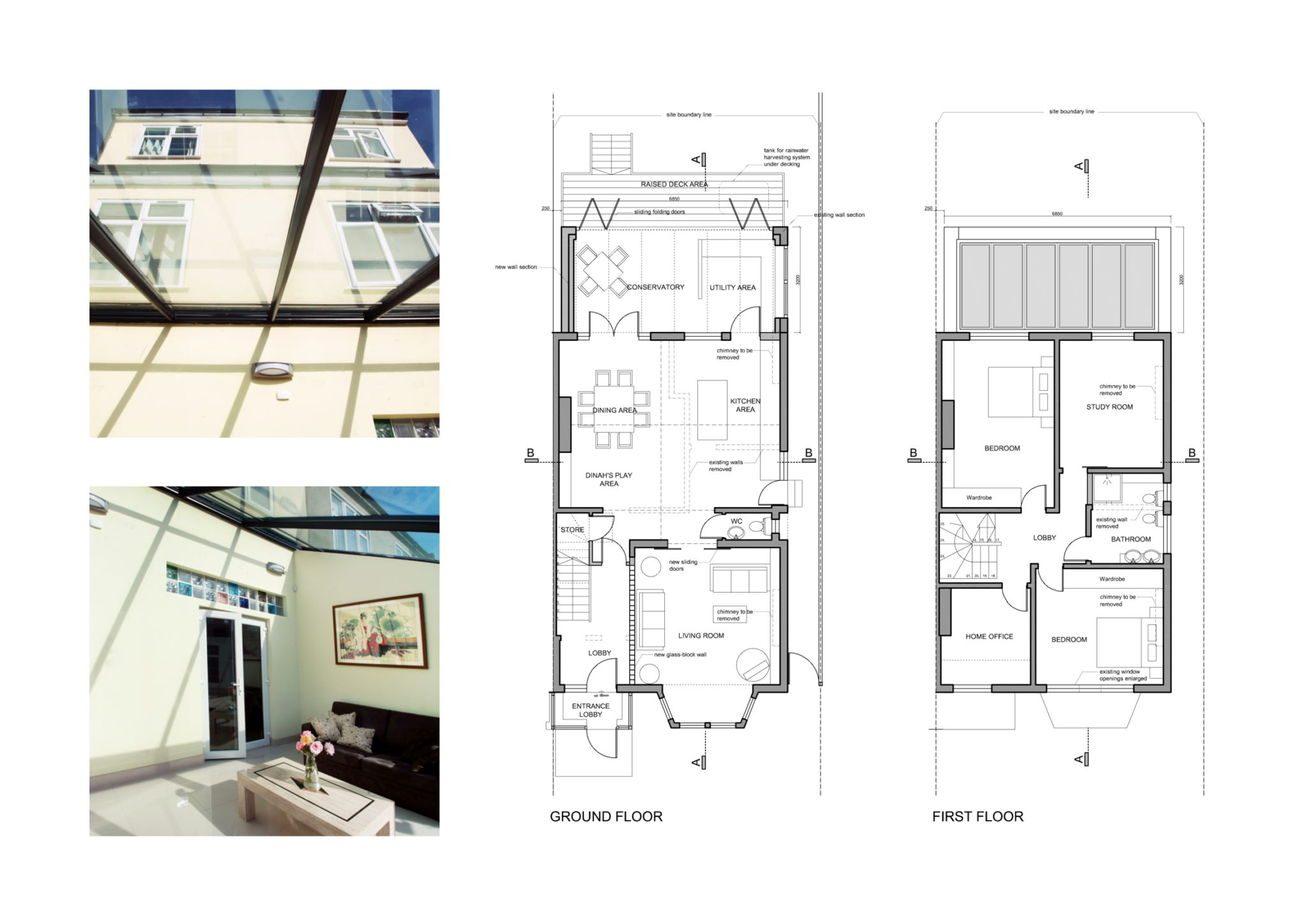 Golders Green Barnet Nw11 House Extension Design Floor
