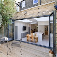 1. Architect designed Putney Wandsworth SW6 kitchen house extension Connecting to the rear garden Rear Extensions in London | Home Design | GOA Studio