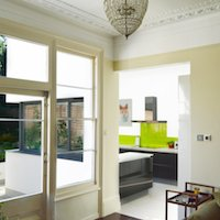 1. Architect designed garden flat extension Kilburn Brent NW2 Internal views 2 Flat extensions in London | Home ideas