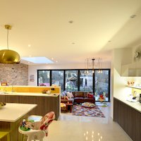 2. Architect designed house extension Grange Park Enfield N21 Internal view Residential renovations in London | Home ideas