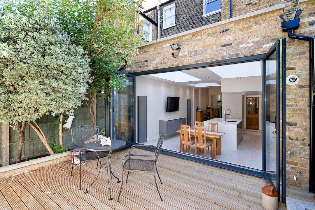Architect designed Putney Wandsworth SW6 kitchen house extension Connecting to the rear garden 1200x800 Putney, Wandsworth SW6 | Kitchen house extension