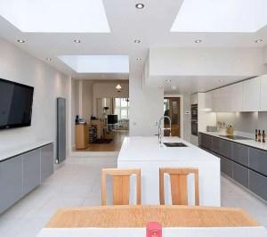 Architect designed Putney Wandsworth SW6 kitchen house extension Kitchen design 300x266 Putney, Wandsworth SW6 | Kitchen house extension