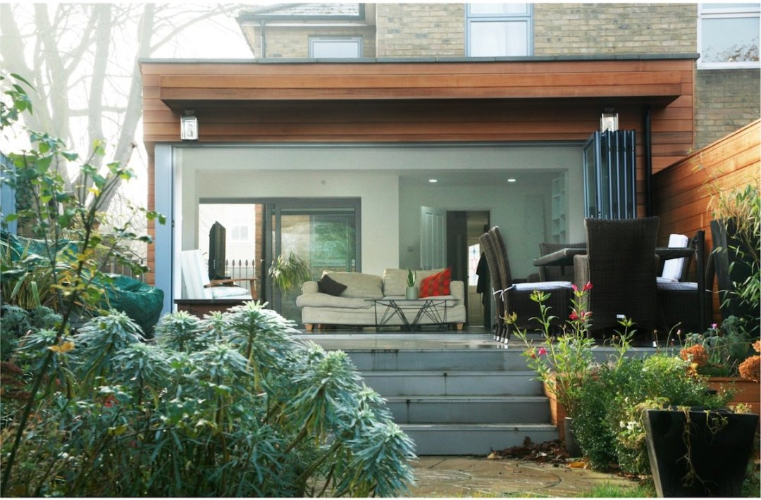 Architect designed house extension Brockley Lewisham SE4 View from the garden 1200x789 Brockley, Lewisham SE4 | House extension