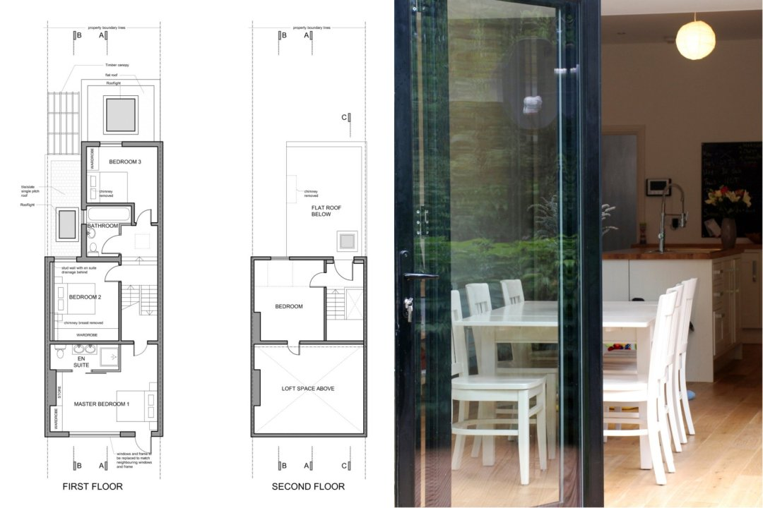 Architect designed house extension East Finchley Barnet N2 Floor plans 1200x800 East Finchley, Barnet N2 | House extension