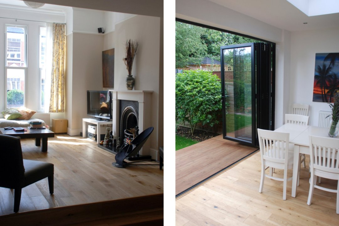 Architect designed house extension East Finchley Barnet N2 Interior spaces 1200x800 East Finchley, Barnet N2   House extension