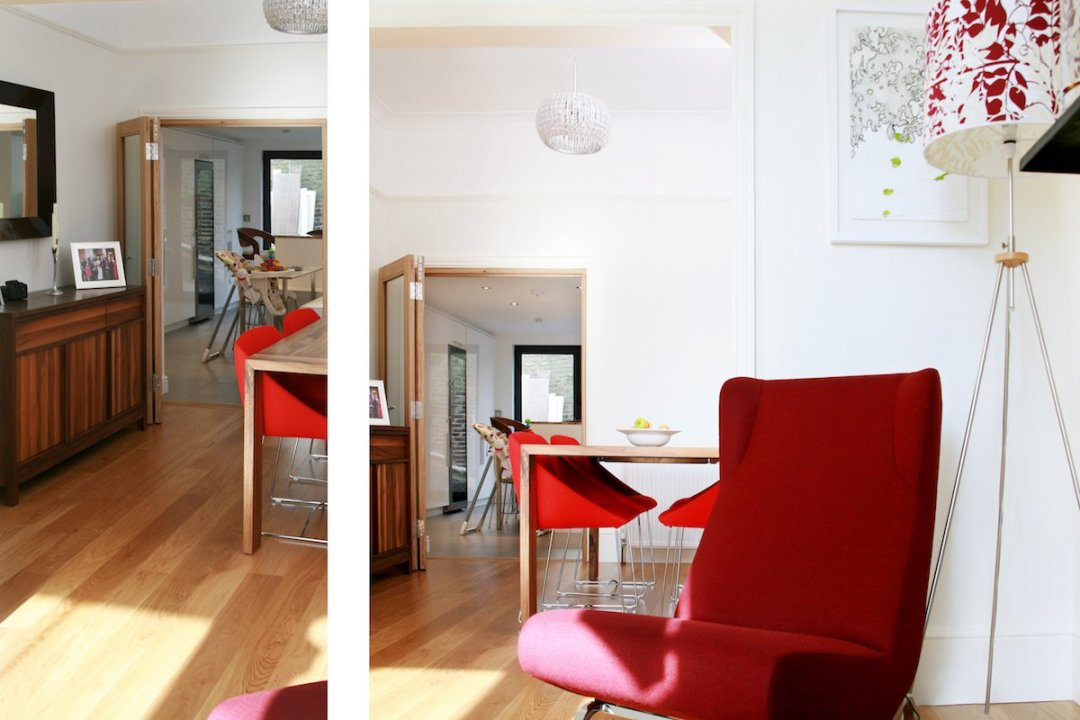 Architect designed house extension Highbury Islington N5 Ground dinning and living areas 1200x800 Highbury, Islington N5 | House extension