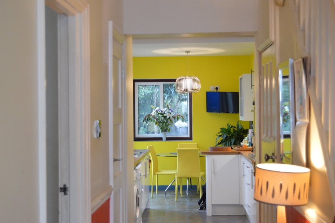 Architect designed kitchen extension Honor Oak Park Lewisham SE23 View from entrance hall 1200x798 Honor Oak Park, Lewisham SE23 | Kitchen extension