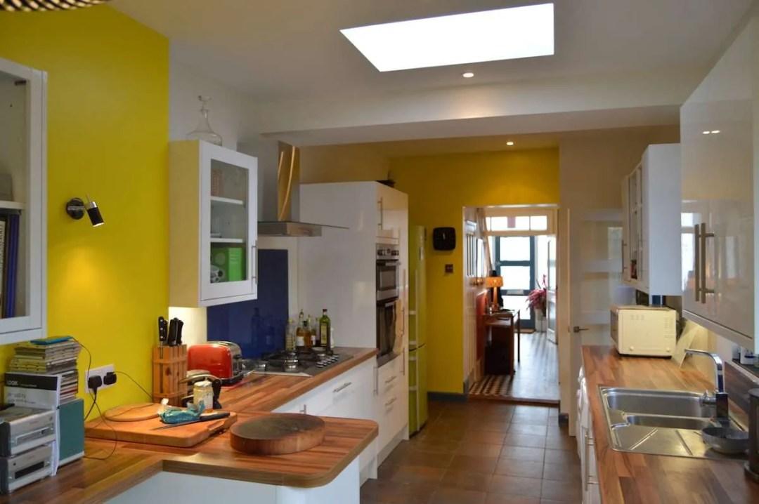 Architect designed kitchen extension Honor Oak Park Lewisham SE23 View towards entrance hall 1200x798 Honor Oak Park, Lewisham SE23 | Kitchen extension