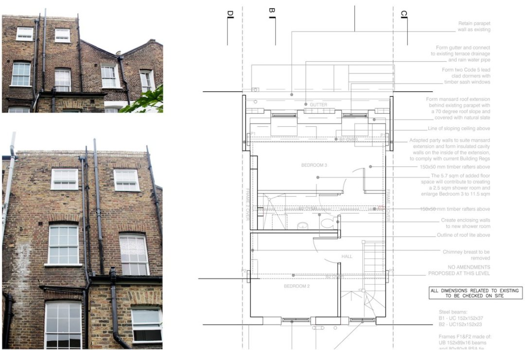 Angel Islington N1 Mansard Roof House Extension